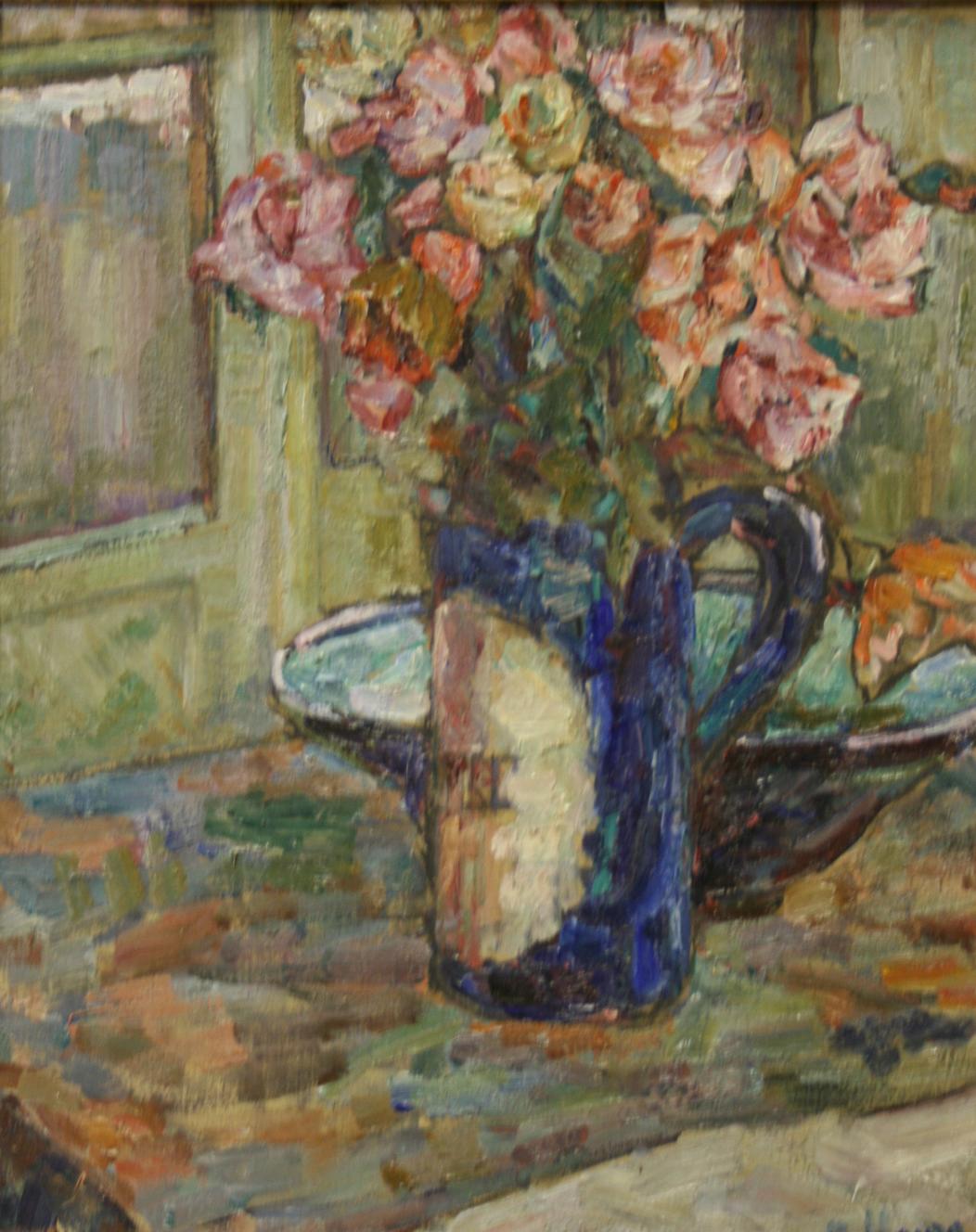 Цветы в кувшине