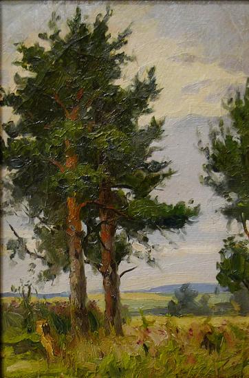 Среднерусский пейзаж
