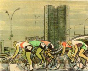 Велогонщики