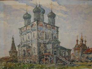 Москва. Новоспасский монастырь