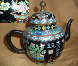Чайник заварочный- клуазонэ