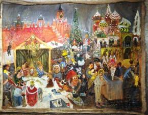 Рождество на Васильевском спуске