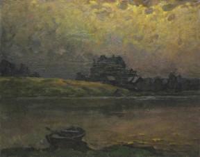 Лодка у реки