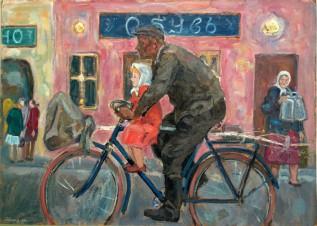 Велосипедист в провинции