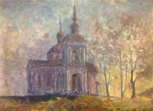 Церковь в селе Знамёнском