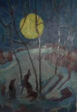 Луна за околицей