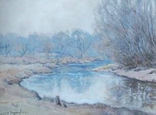 Река осетр. Деревня Кешино