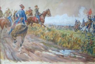 Ворошилов на параде конников