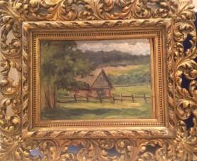 Пейзаж с домиком
