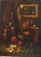 Натюрморт с красными плодами