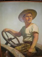 Портрет тракториста