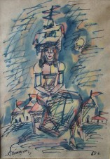 Дама с Храмом (копия)