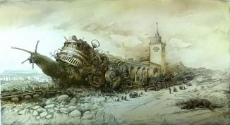 Опоздание поезда