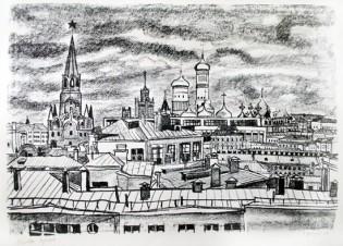Москва.Крыши 2.