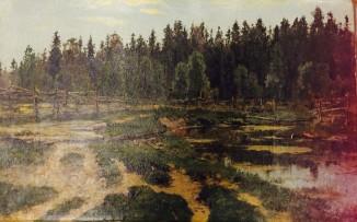 Лес. У околицы