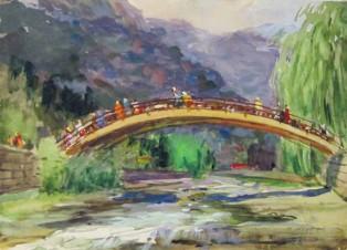 Гагра. Горбатый мостик