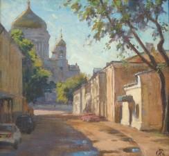 Московское утро. Храм Христа Спасителя