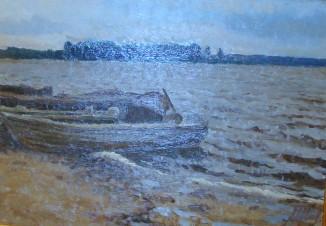 Лодки на Волге