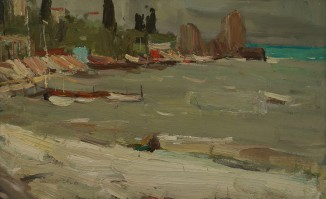 Гурзуфский пляж. Шторм