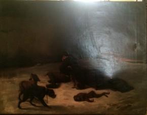 Смерть обезьянки (копия В.Перова)