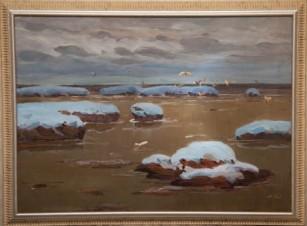 Начало зимы в Карском море