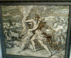 Братоубийство, Каин и Авель (копия картины Ю.Ш. Карольсфельда-  Julius Schnorr von Carolsfeld)