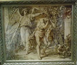 Изгнание из Рая (копия картины Ю.Ш. Карольсфельда)