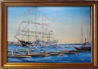 Крузенштерн в Сочинском порту