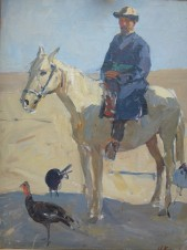 Всадник на коне (Бенбаш Кендшахан)