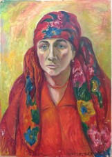 Портрет украинской художницы