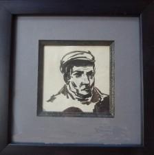 Портрет Остапа Бендера (из серии «Литературные персонажи»)