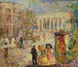 На площади Нахимова