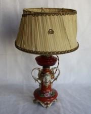 Лампа. Императорский фарфор (ИФЗ). Период Александра II