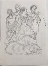 На балу. Иллюстрация к роману Л.Н. Толстого «Анна Каренина»