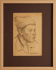 Портрет вагонщика Н.В. Курбачева