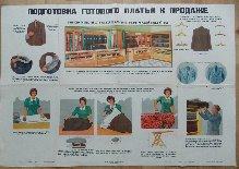Подготовка готового платья к продаже