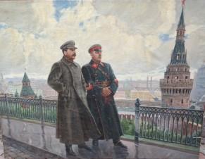 Сталин с Ворошиловым