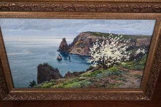 Крым.Морской пейзаж-пара