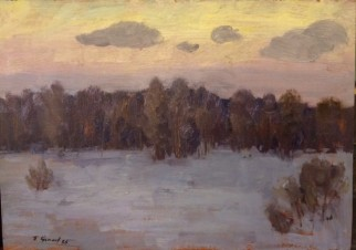 Зима в Гатчине