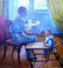 Мама и Гоша