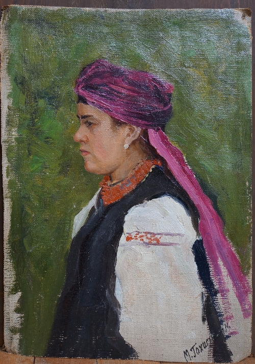 «Портрет украинской девушки».