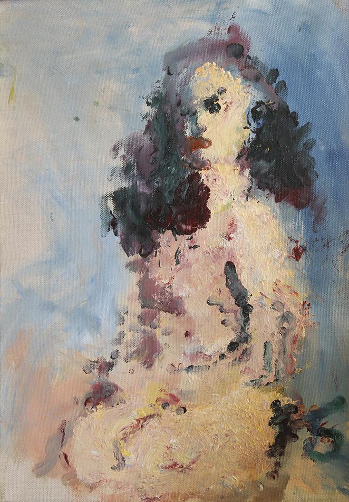 Портрет обнаженной женщины