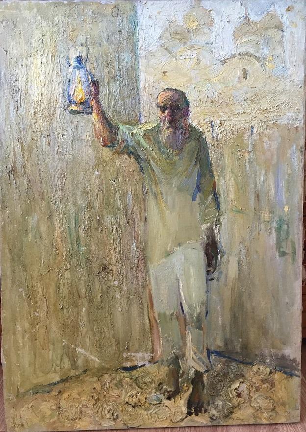 Старик с фонарем