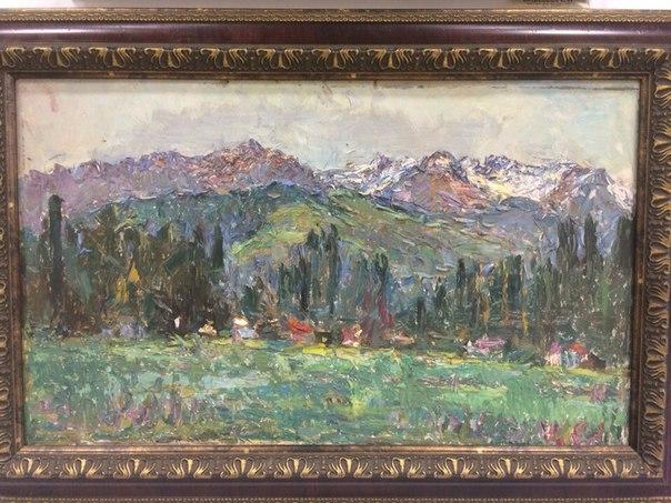 Горы в Пржевальске