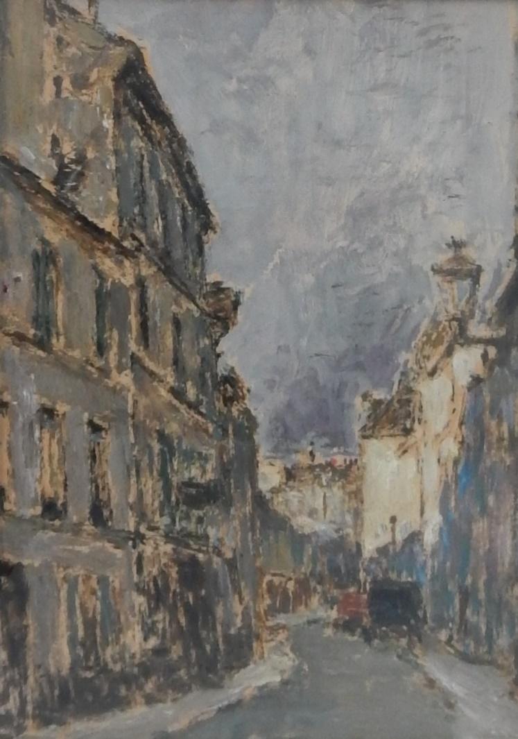 Rue de Paris dans l'ombre