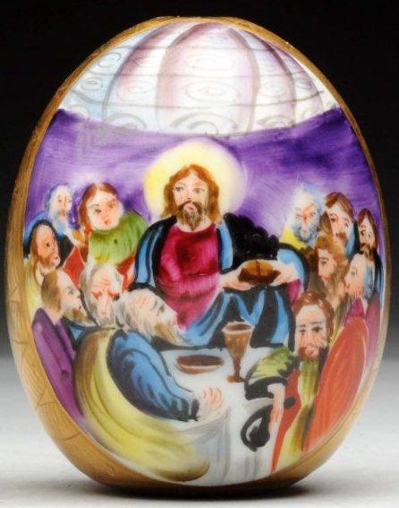 Пасхальное яйцо «Тайная вечеря»