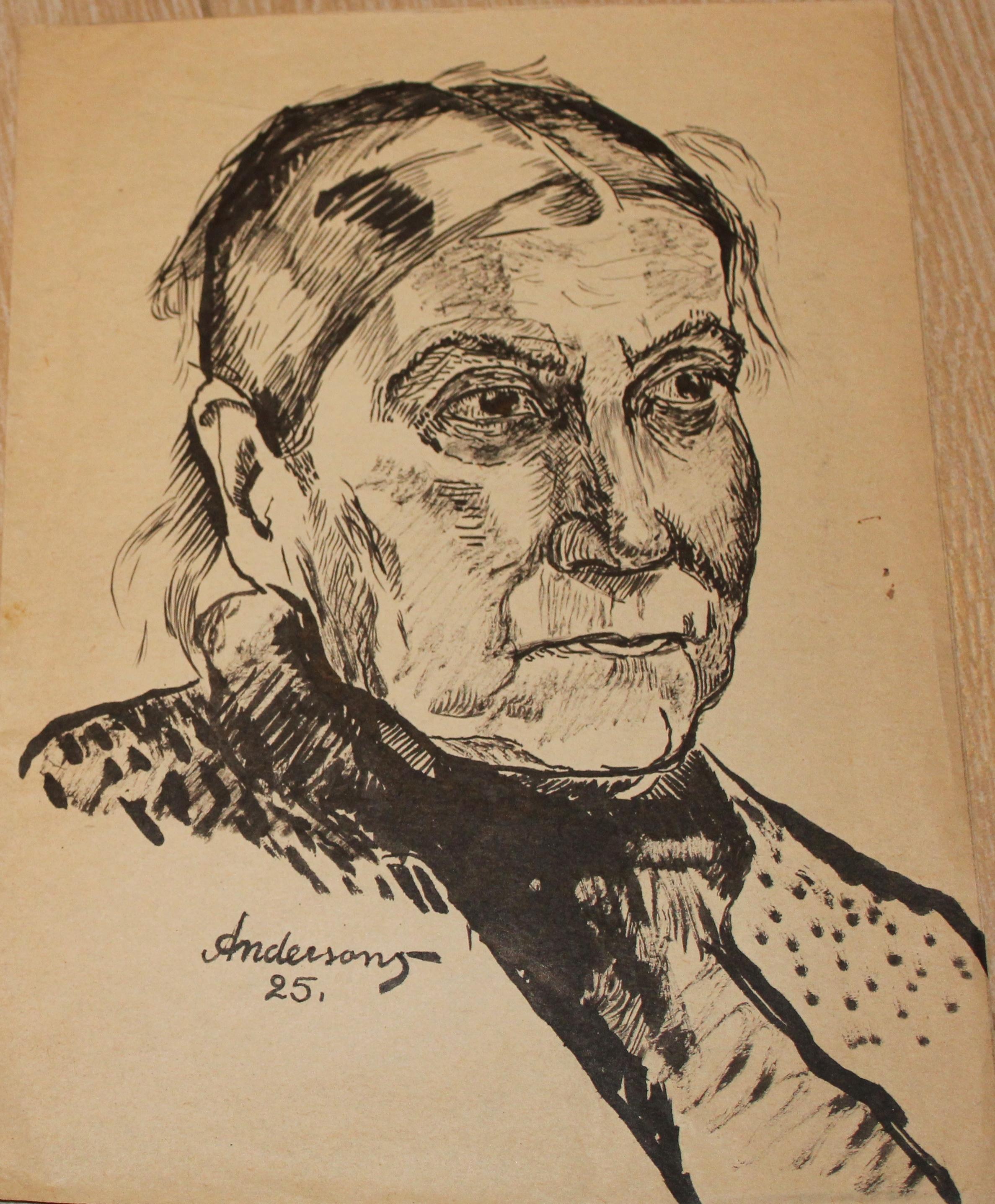 Портрет бабули