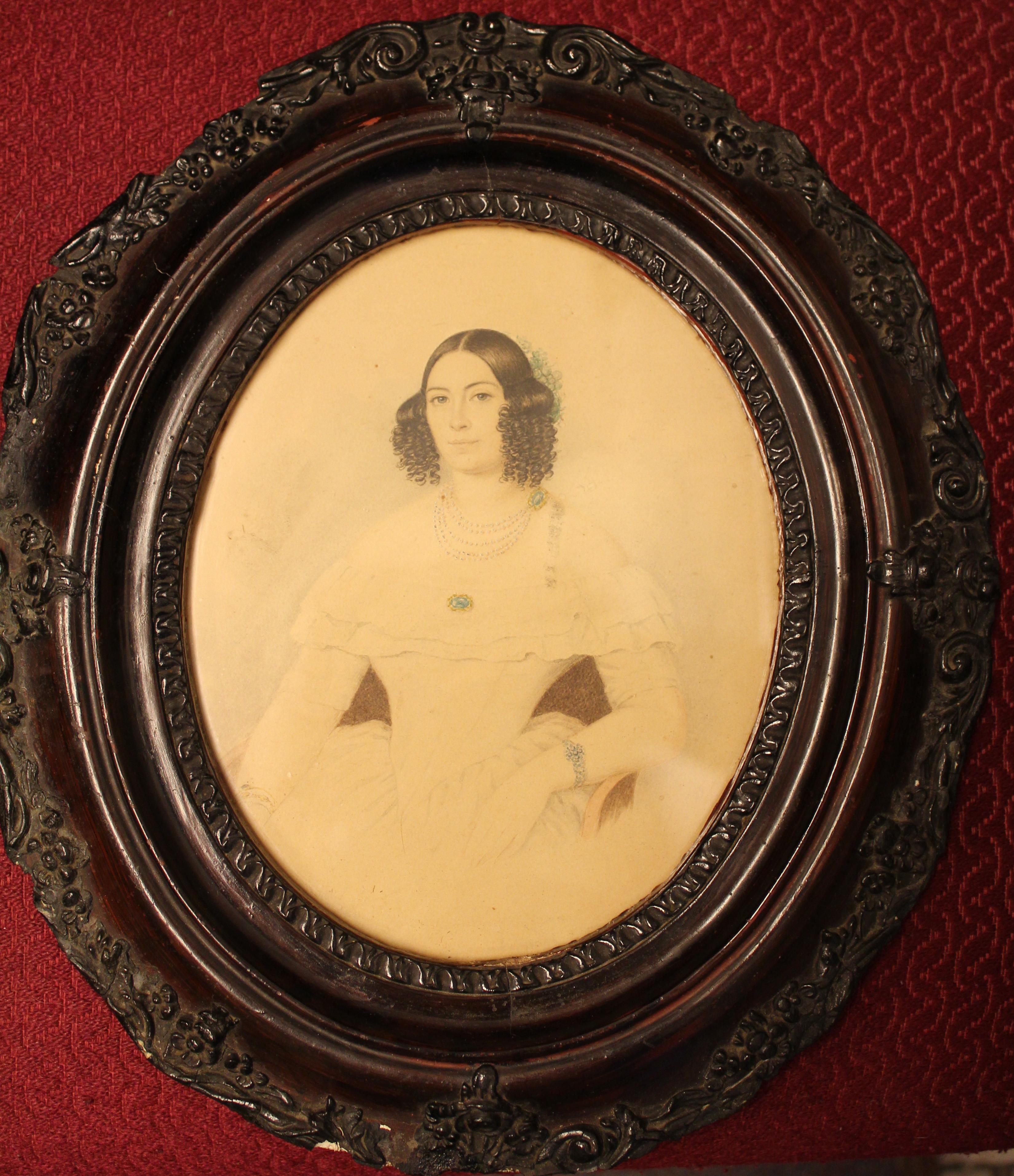 Женский портрет (Ракитина (Бунина) Е.В.)