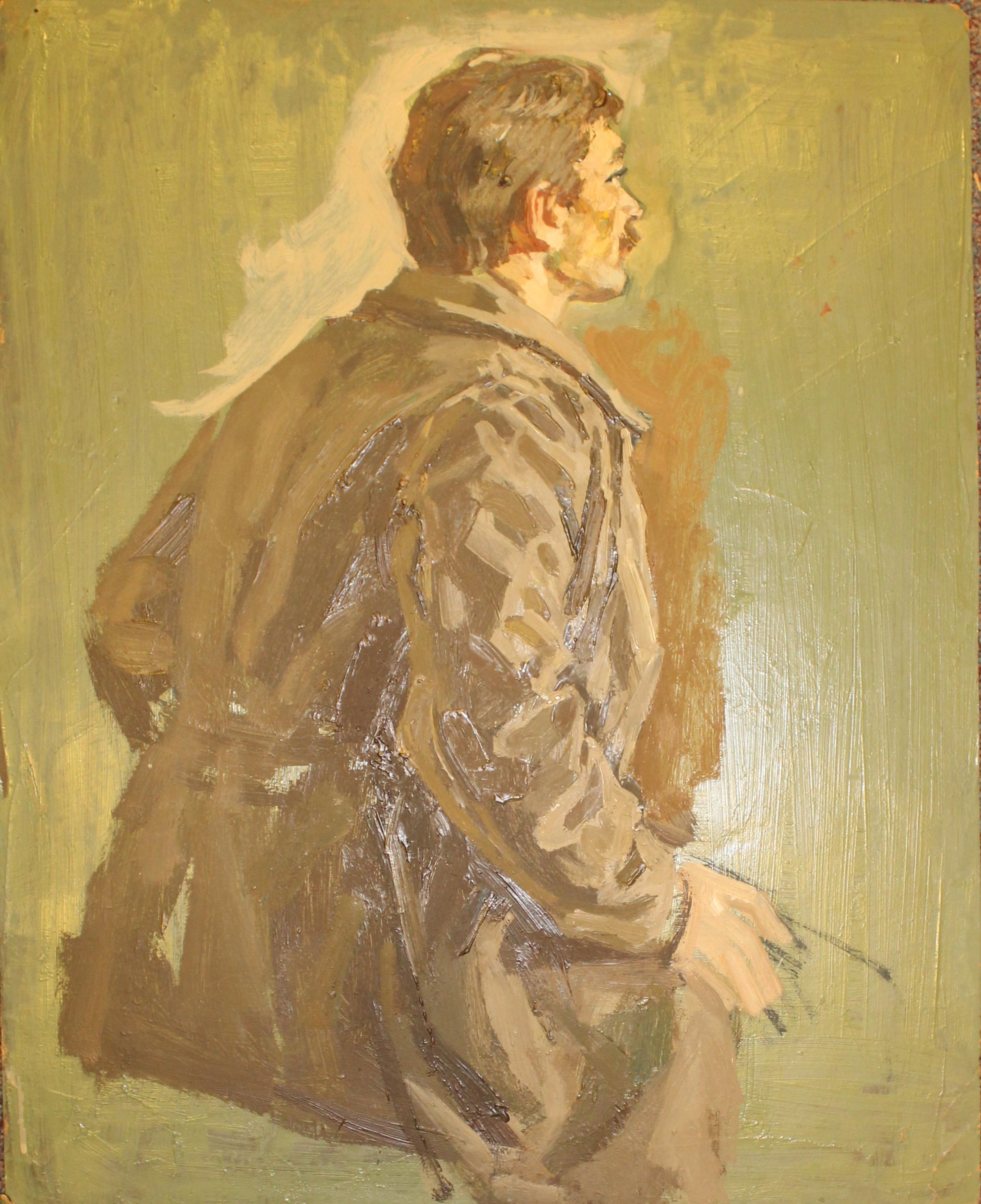 Портрет мужчины полубоком