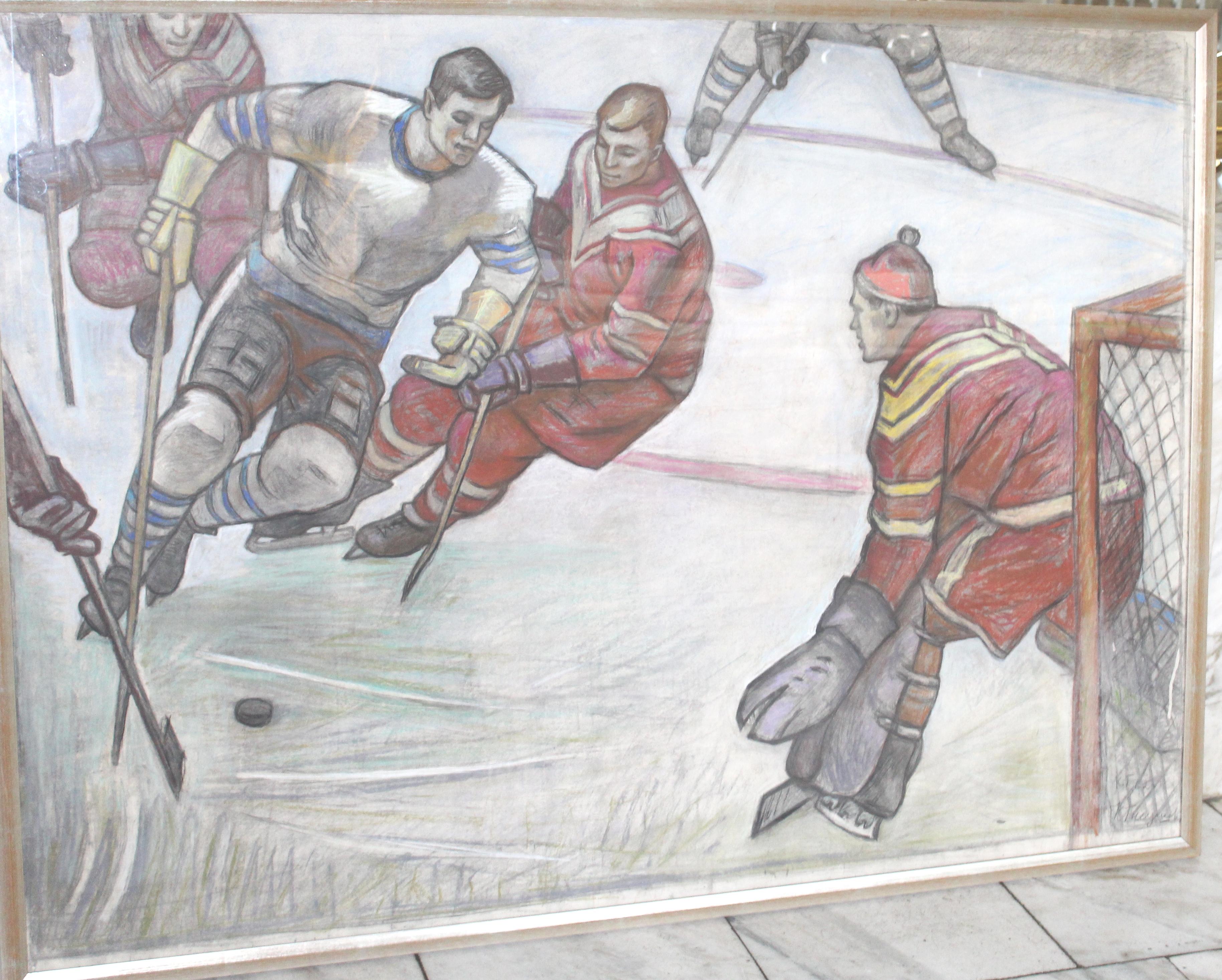 Хоккей- СССР-Швеция